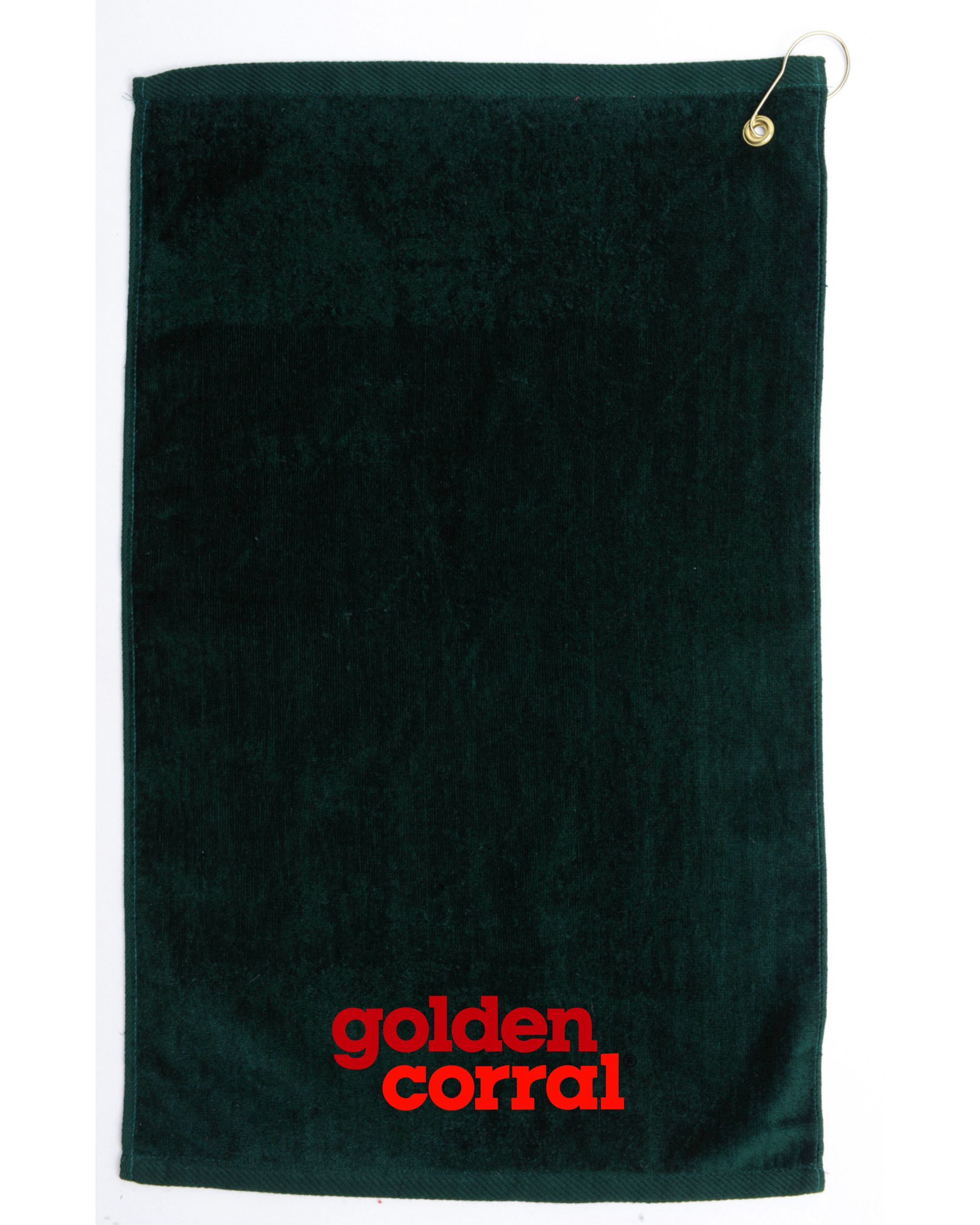 Embroidered Golden Corral Golf Towel